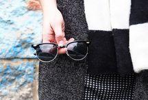 FASHION | Black & White / Es muss nicht immer bunt sein. Auch Black&White Styles können toll aussehen und die schwarzweißen Outfit sind gleichzeitig cool und elegant.