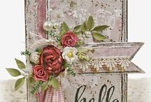 Shabby chic cards