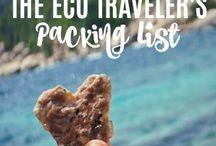 Eco-friendly travel equipment