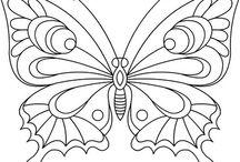 mariposas ,libelulas e insectos