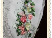 Ribbon Embroidery / by Katherine Smith