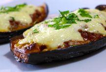 Papoutsakia / Aubergine meat gerecht