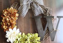 Wreath Works / Beautiful wreaths for the front door or the classroom door