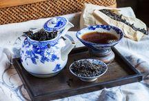 Traditional Pu-erh Tea / On the lighter side. A shou pu-erh that translates well to familiar black tea profiles. A fine intro pu-erh.
