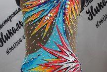 Justaucorps multicolores