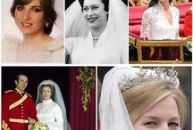 Pasta  de noivas  da família  real  da Inglaterra