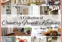Country French Kitchens / by The Cottage Market
