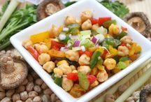 Salate / Salate auf orientalische Art