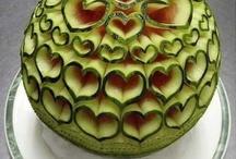 Creative Food - Carvings