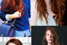 Cabelos / Inspirações de penteado e cores!!