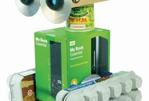 Robô Material Reciclavel