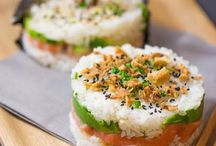 Sushi, maki