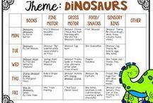 dinosaurs theme