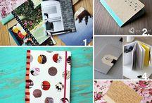 Cuadernos y  decoración