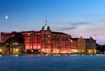 Il Molino Stucky a Venezia oggi Hilton Hotel / stupendo esempio di archeologia industriale riconvertito in hotel