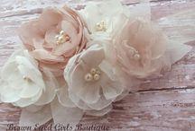 tiaras y flores