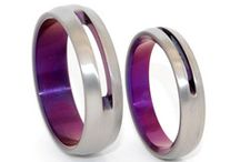 Truly Modern - Titanium Wedding Rings / We aim for classic design with modern edge. Every titanium ring is handmade in Boston, MA.  Custom Titanium Rings | Minter & Richter