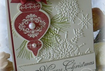 Ornament Keepsakes / Made using Stampin' Up! Ornament Keepsakes stamp set and Big Shot framelits.