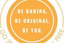30 Day Challenge / Be Daring, Be Original, Be You!  Sign up to the 30 Day Challenge on watersedgecounselling.com to have a tip sent to your inbox every day for a month!
