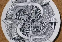 Zentangles and Doodles