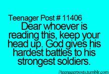 opmuntrende ord