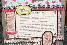 Scrapbooking / Scrapbooking with WMS Stamps and Dies