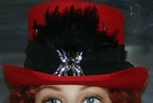 Steampunk Hats & Gothic Hats designed by East Angel Harbor Hats / My Steampunk Hats evoke the feeling of the Victorian era, however, they all have a modern twist to give them spark and a variety of novel whimsies to peak your interest!