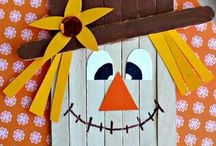 Popsicle Stick Crafts / by Stacy Cowan