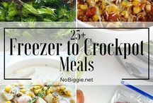 freezer to crockpot