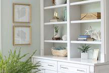 Built in Bookshelves and Entertainment Units