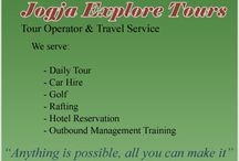 Jogja Explore Tours / Jogja Explore Tours is online tour operator and travel service based in Yogyakarta, Indonesia