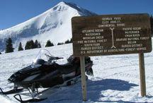 Colorado Snowmobiling / Snowmobiling in Colorado.