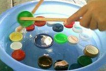 Actividades divertidas / decorcion del salon de clases con botones