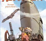 """""""Alo du Vent"""" (série en 2 tomes) par Zeloni et Moleskina."""