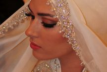 Hijabi brides,love it ;)