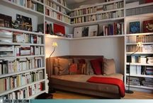 The Library / For our cozy book room / by Bethany Banks