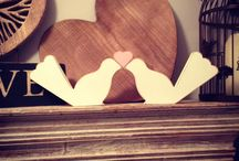 Painted Wooden Shapes