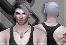 ts4 cc Male Hair