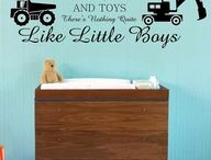 John Deere bedroom ideas / Ideas to decorate Caleb & Owen's rooms / by Loretta Valstar