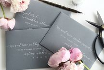 Calligraphy Envelopes / Beautiful envelope addressing