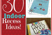Teach: Indoor Recess / Activity ideas for indoor recess in an elementary classroom. / by Kristina Kroon