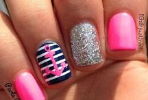 nail designs / by Debbie Wilkin