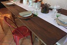 Allestimenti / Catering non significa soltanto cucina... Per noi, significa cura di ogni minimo dettaglio. L'apparecchiatura, gli allestimenti, le luci...