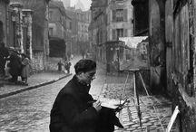 Montmartre et la peinture / Modigliani, Renoir, Picasso, Dali, Toulouse Lautrec et tant d'autres peintres ont vécu ici et ont peint la vie de la Butte. Aujourd'hui la tradition est toujours vivante et de nombreux artistes vivent toujours à Montmartre.