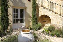 Mediterian garden