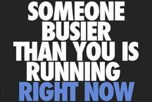 Running / Motivation etc.