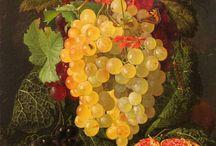 фрукты в живописи