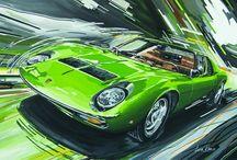 Cars & illustrations