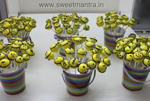 Cake Pops / Now order/send customized homemade Eggless Theme Cake Pops to Pune with just a phone call! For orders, pictures of cakes, cupcakes and reviews, please visit our website http://www.sweetmantra.in