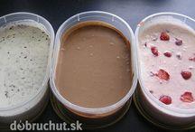 jogurtová zmrzlina